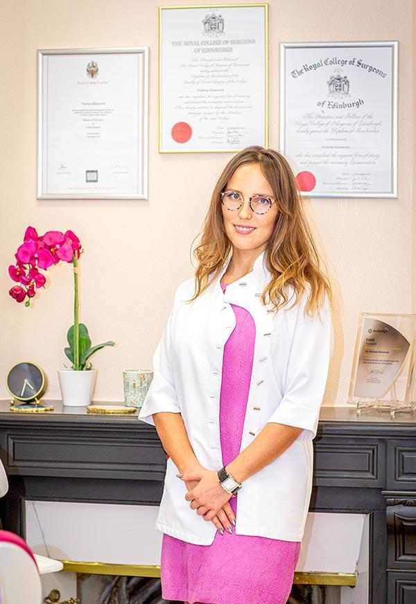 Victoria Klimovich directrice de la clinique dentaire Dental Geneva à Genève